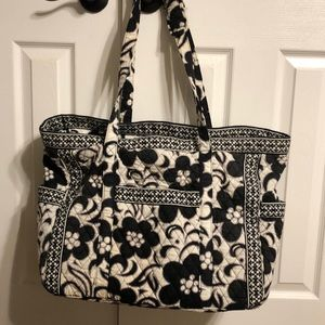 Vera Bradley X Large/Grand Tote-Midnight Paisley